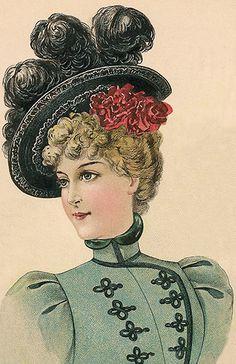 Ladies Carriage Hat September 1898