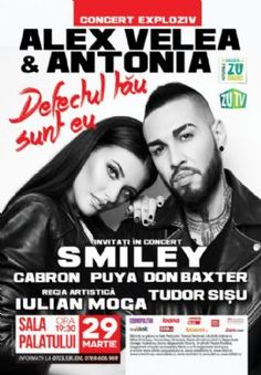 Antonia and Alex big concert Smiley, Concert, Movies, Movie Posters, Pictures, Logo, Photos, Logos, Films