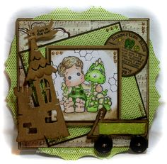 card made with stamps from www.magnoliastamps.us   #diy #magnolia stamps #rubberstamping #card making