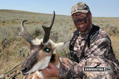 Tagging a pronghorn buck with a bow is no easy feat, here are some tactics guaranteed to help you succeed on your next speed goat quest. Archery Hunting, Deer Hunting, Wet Spot, Bowhunting, Animal Games, Goats, Fishing, Wildlife, Animals