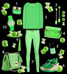 green like essie´s mojito madness  more on facebook.com/essieDe