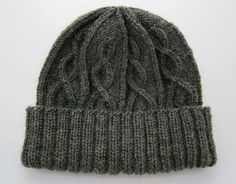 I finished this hat to give to my uncle this Christmas. He's a fisherman, and I think it's oh so appropriate! I tried it on and have decided that I will need one too (knit in the next size down) once I'm finished with all the other gifts I've planned. Here's the pattern I used, with...