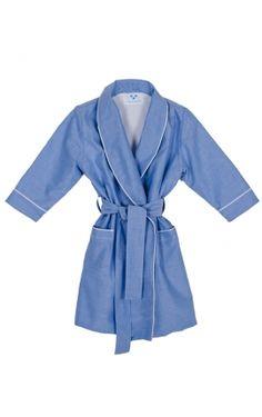 Batín Oxford color azul