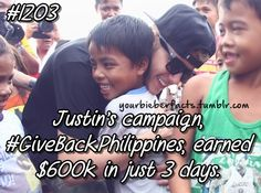 Justin Bieber Facts, You can still help. Click here to donate and get a...