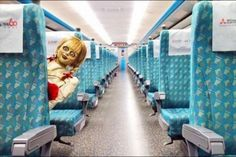 "A train company in Taiwan has complained to Warner Bros over the appearance of its ""haunted"" Annabelle doll appearing on trains, the BBC reported last week.. Read more at straitstimes.com."