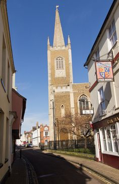 St Nicholas Parish Church, Harwich, Essex.  My parents attended this church before emigrating. It's also the parish church of generations of my family.
