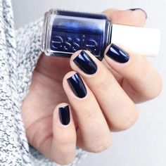 See this Instagram photo by @essiepolish • Beautiful blue With a grey sweater: could anything scream COWBOYS more?