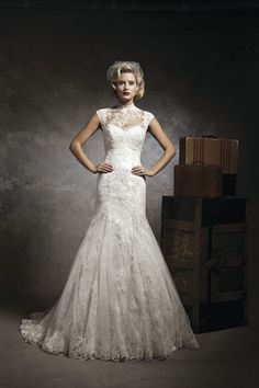 56 Exclusive Gorgeous Wedding Dresses By Justin Alexander - Fashion Diva Design