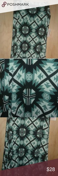 Lularoe maxi skirt/strapless dress size medium NWT Lularoe Maxi size medium. Beautiful greens mixed with an Aztec print. Great for festivals and fun in the desert. LuLaRoe Dresses Strapless