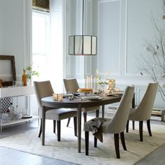 Starburst Expandable Dining Table | west elm