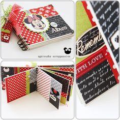 scrappassion: album w pudełku Cruise Scrapbook, Project Life Scrapbook, Disney Scrapbook Pages, Mini Scrapbook Albums, Scrapbooking, Mini Albums, Mini Album Scrap, Mini Photo Albums, Album Photo