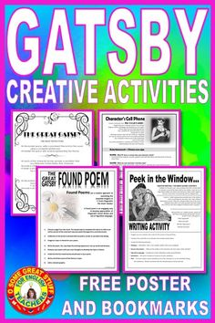 English Activities, Writing Activities, Classroom Resources, Teaching Resources, Found Poem, English Teachers, American Literature, Creative Activities