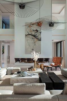 New stylish modern luxury villa in Zagaleta, Marbella in Marbella, Spain for sale (10522993) Villas, Beach Villa, Swimming Pool Designs, Modern Luxury, Luxury Villa, Luxury Real Estate, Living Area, Interior Decorating, Relax