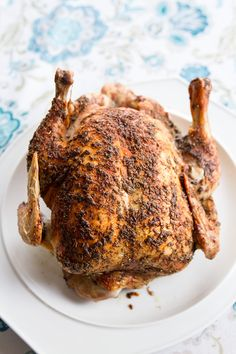 This is literally the only butter roasted chicken recipe that you will ever need again. Perfectly roasted chicken and vegetables every time! Best Roasted Chicken, Perfect Roast Chicken, Baked Chicken, Butter Chicken, Herb Butter, Avocado Chicken, Roast Chicken And Stuffing, Chicken Salad, Best Roast Chicken Recipe