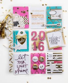 New Year's Pocket Letter by Lorrie Nunemaker