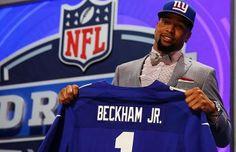 NY Giants 2014 Draft Class Odell Beckham Jr b738ddbdb