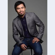 Manny Pacquiao, Suit Jacket, Suits, Jackets, Instagram, Fashion, Down Jackets, Moda, Fashion Styles