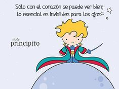 Wellness Tips & Ideas Little Prince Party, The Little Prince, Pretty Quotes, Sweet Quotes, Spanish Lessons, Spanish Quotes, Dream Book, Clever Quotes, Inspiring Quotes