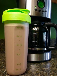 "AJ Monte - I ran out of Mocha Infusions for my Metaboliq chocolate shake this morning so I added warm black coffee to my shaker bottle instead. Whoa! Is it good. 20 ounces of ""Get up and GO"""