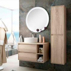 Bathroom Vanity Units, Wood Bathroom, Modern Bathroom, Small Bathroom, Restroom Design, Bathroom Interior Design, Bathroom Furniture Design, Toilette Design, Washbasin Design
