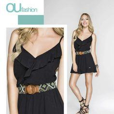 Detalhes delicados, para um dress leve e despojado!  #oufashion #dress #comfy #perfeitoparaofindi