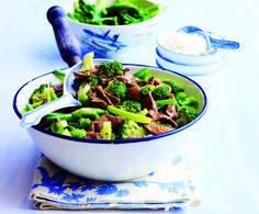 Rijst met broccoli en biefstuk | Gezond eten magazine