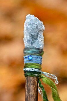 Kristalstaf voor koning winter - DIY