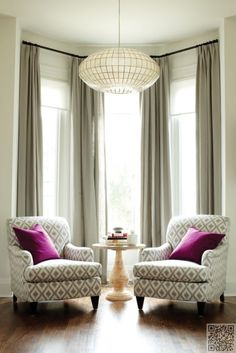 6. To the #Ceiling - 22 Curtains for Any Room in Your #House ... → #Lifestyle #Layered