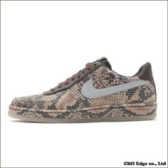 newest collection 582f6 f9a74  楽天市場  28.5cm  NIKE AIR FORCE 1 DOWNTOWN LW QS PYTHON  577657-200   191-003677-316 新品同様 :CliffEdgeR