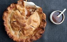 Apple Pie with Spiced Apple-Caramel Sauce Recipe