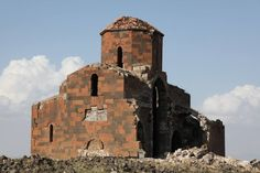 The Cathedral of Mren, 7th-century, Western Armenia