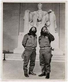 Camilo Cienfuegos and Rafael Ochoa, 1959