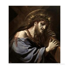 Jesus Carrying the Cross, Ca. 1697 Giclee Print by Luca Giordano - AllPosters.co.uk
