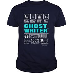 GHOST WRITER T-Shirts, Hoodies. SHOPPING NOW ==► Funny Tee Shirts