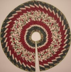 Tree Skirt using wedge ruler