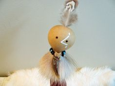 Badger Totem Spirit Person, Animal Totem, Gourd Art, Totem Art , Badger Medicine , Spiritual Tool, Handmade OOAK by SpeaksWithAncestors, $45.00 USD