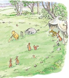 Book: Return to the Hundred Acre Wood Winnie The Pooh Cartoon, Winne The Pooh, Winnie The Pooh Quotes, Eeyore, Tigger, 100 Acre Wood, Hundred Acre Woods, Pooh Bear, Children's Book Illustration