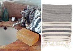 Striped Hammam Bath Towels from Toast