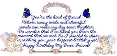 Funny Happy Birthday Quotes for Guy Friends Special Friend Quotes, Best Friend Quotes, Best Quotes, Birthday Verses For Cards, Birthday Quotes For Him, Birthday Ideas, Birthday Sayings, Birthday Board, Birthday Greetings