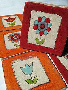 Dekorácie - Obkladačky Kvetinkové - 2483479