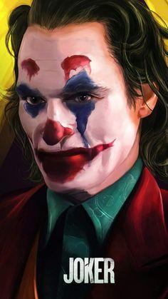 Joker Closeup Face iPhone Wallpaper - iPhone Wallpapers