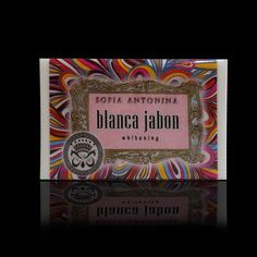 blanca jabon from sofia antonina, a perfect whitening soap to have an even bright skin. good for both face and body