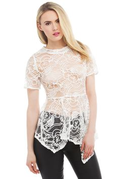 http://www.shopakira.com/products/gracia-all-in-the-lace-peplum-top-white.html