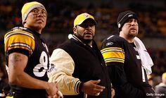 Steelers - Ward - The Bus - Big Ben 3 of my favorites.