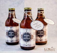 Cervezas personalizadas: detalles de boda