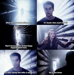 last 4 ep of S3b soon to air - Teen wolf - Dark Stiles and Lydia