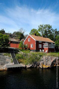 Västervik archipelago, Småland by Milan Kuminowski, via Flickr