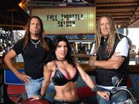 these 3 will keep it going at the full throttle salon i can wait til dessi turns 18 im going to the throddlefest that year deffinatly Full Throttle Saloon, Biker Party, Hack My Life, Best Clips, Reality Tv, Tv Shows, Running, Bra, Motorcycles