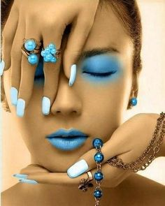 #makeup #eyes #face #nails