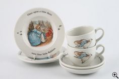 Best childhood time spent having tea with my Grammy with this tea set.